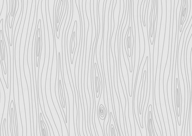 drewniana jasnoszary tekstura. tło z drewna wektorowego - drewno tworzywo stock illustrations