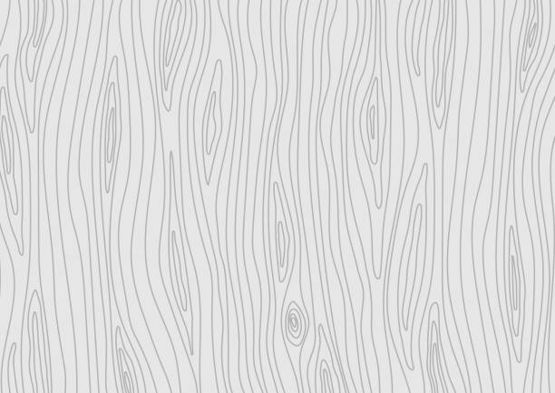 wooden light grey texture. vector wood background - wood texture stock illustrations