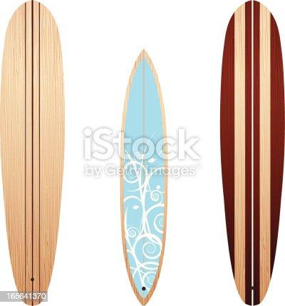 istock Wooden Longboards 165641370
