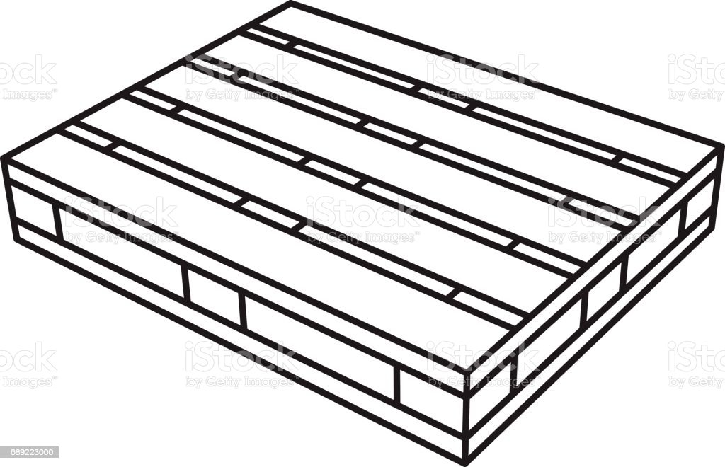 royalty free wood pallet clip art  vector images