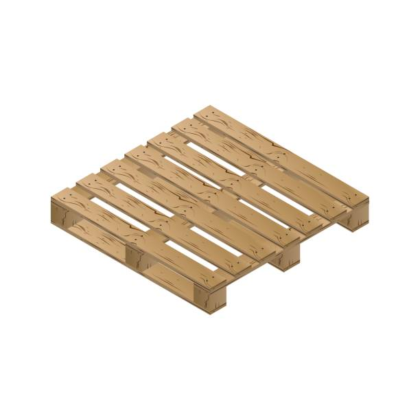 Royalty Free Wood Pallet Clip Art, Vector Images ...
