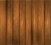 Vector wooden plank. EPS10. Contains transparent effect.