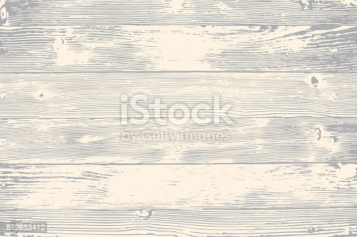 istock Wooden planks overlay texture for your design. Shabby chic background. Easy to edit vector wood texture backdrop 812653412