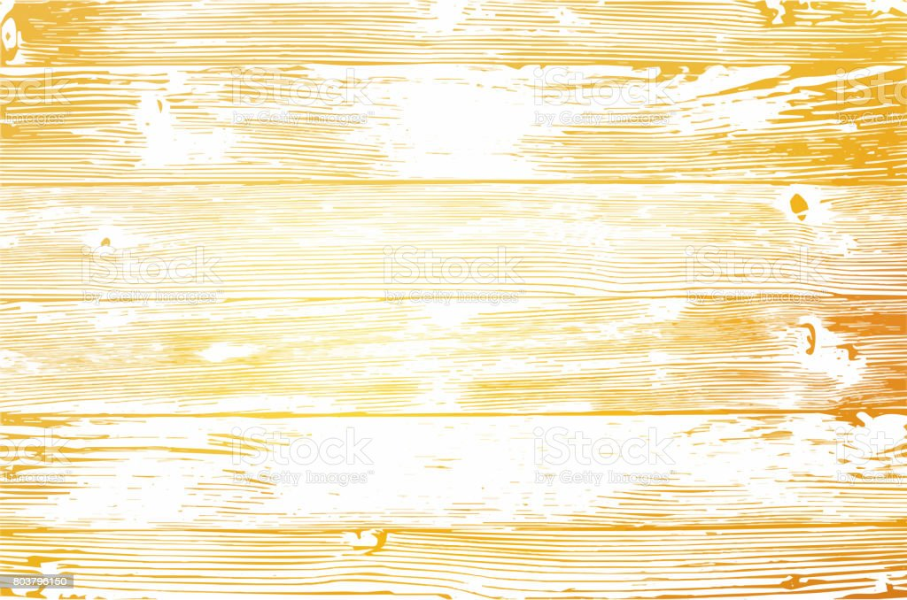 Wooden planks texture for your design. Shabby chic golden background. Vector wood texture backdrop vector art illustration