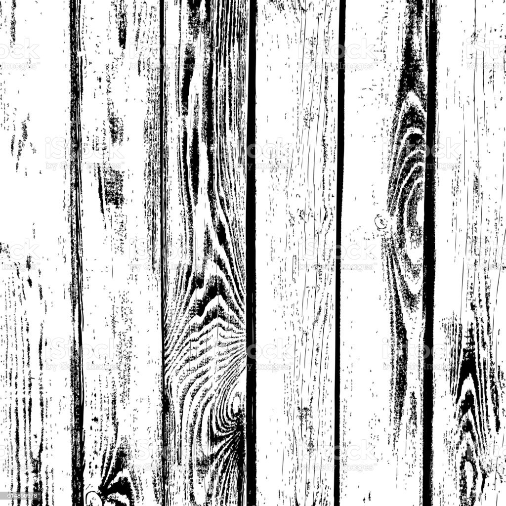 Wooden Planks Vector Texture Old Wood Grain Textured Background Stock Illustration Download Image Now Istock