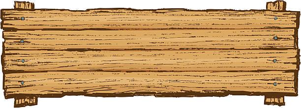 hölzerne schild board hintergrund - nagelplatte stock-grafiken, -clipart, -cartoons und -symbole
