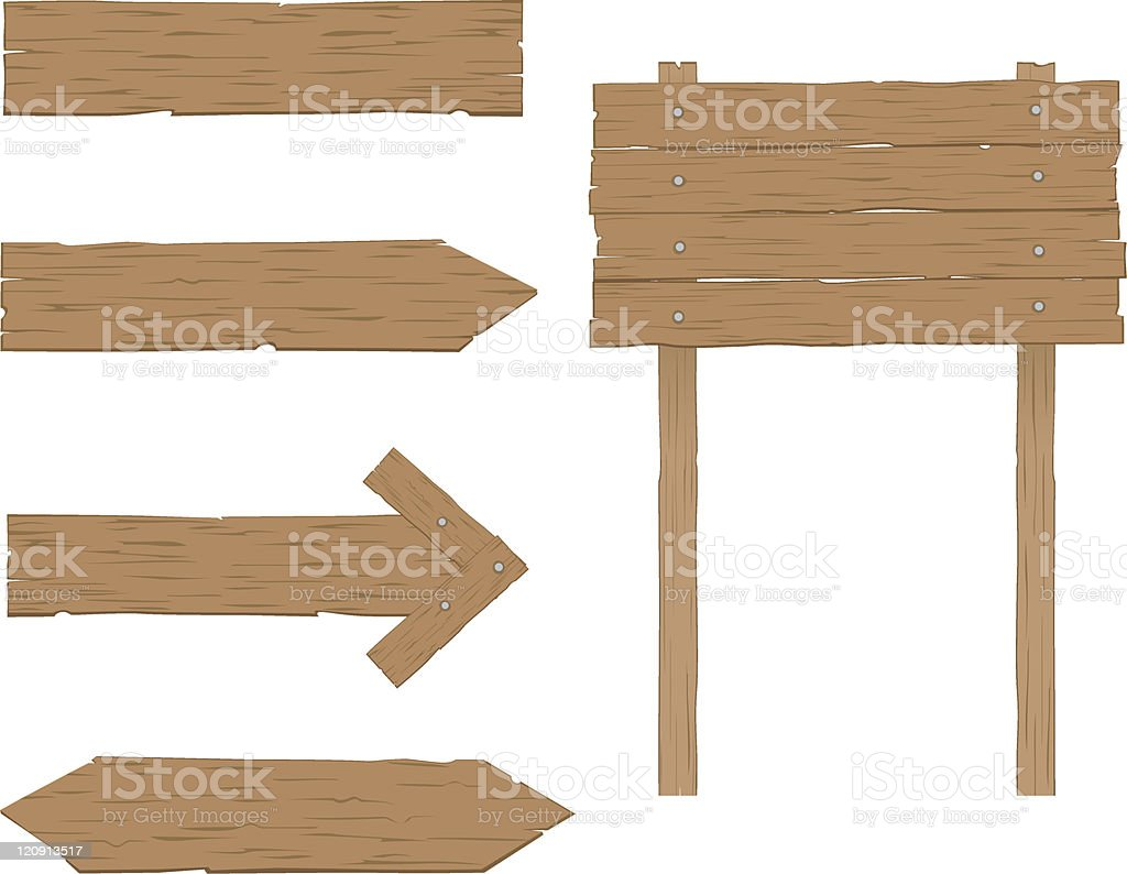 Wooden Signs royalty-free wooden signs stock vector art & more images of advice