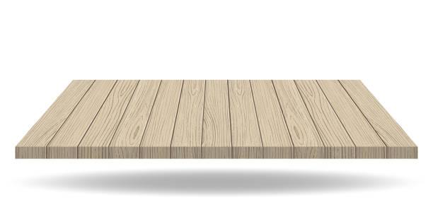 tisch aus holz - holzdeck stock-grafiken, -clipart, -cartoons und -symbole