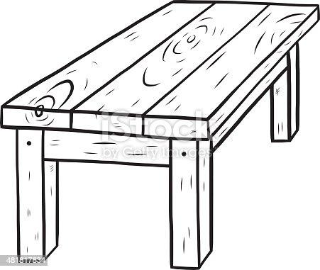 Single Step Stool Wood