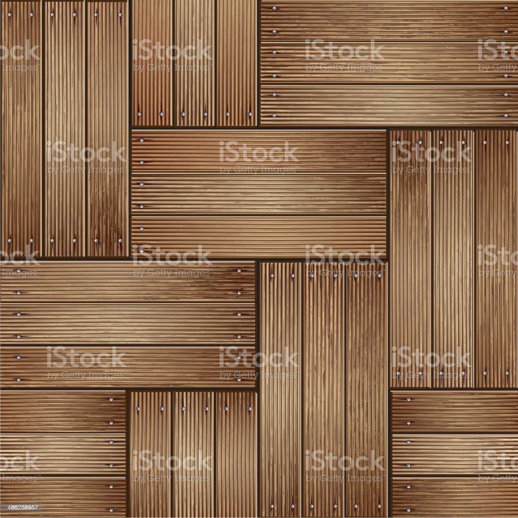 Holz Textur Hintergrund. – Vektorgrafik