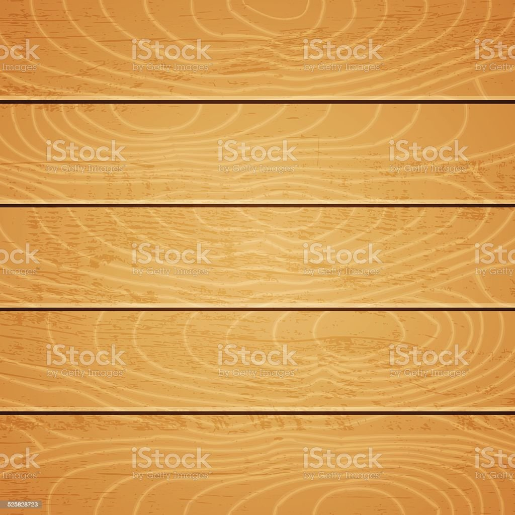 Wooden texture vector art illustration