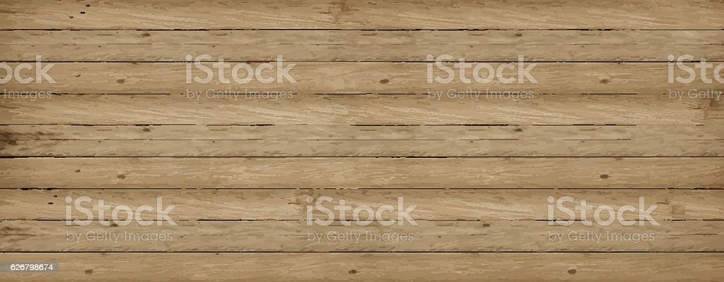 Wooden Vector Background Texture ベクターアートイラスト