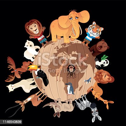 Wooden World and Animals