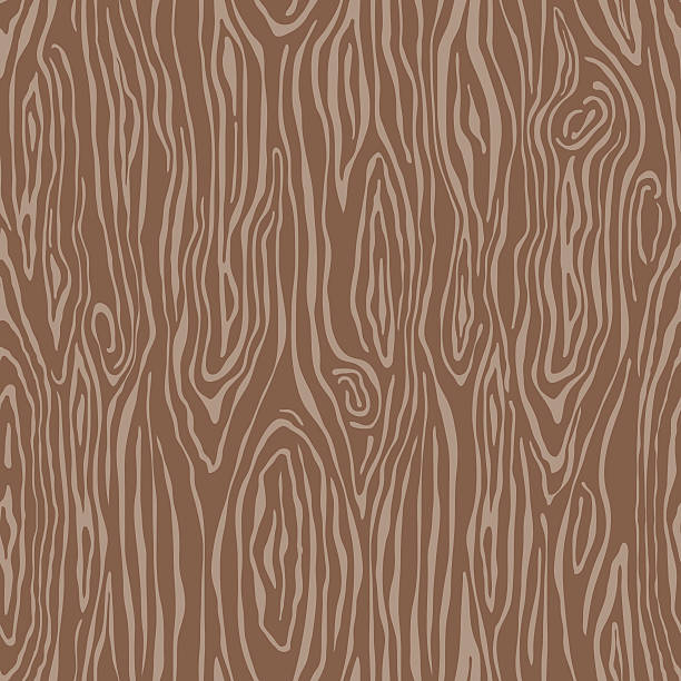 woodgrain seamless pattern - wood texture stock illustrations