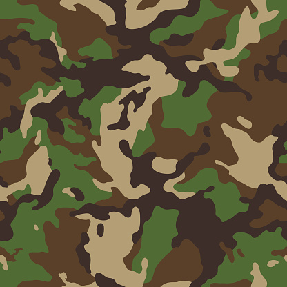 woodland camouflage seamless
