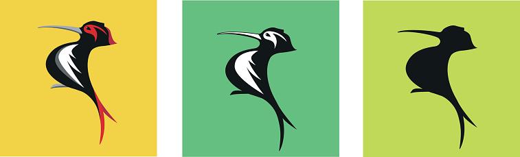 Woodpecker Logo Variation