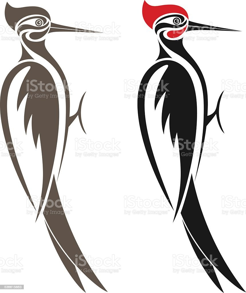 royalty free great spotted woodpecker clip art vector images rh istockphoto com woodpecker images clipart pileated woodpecker clipart