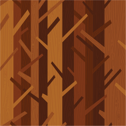 Bosque De Fundo - Arte vetorial de stock e mais imagens de Ao Ar Livre