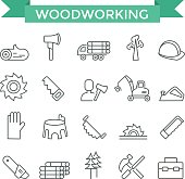 Woodworking icons