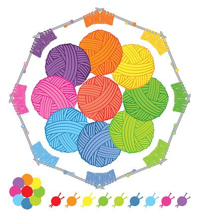wool colour palette