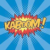 KABOOM! Wording Sound Effect