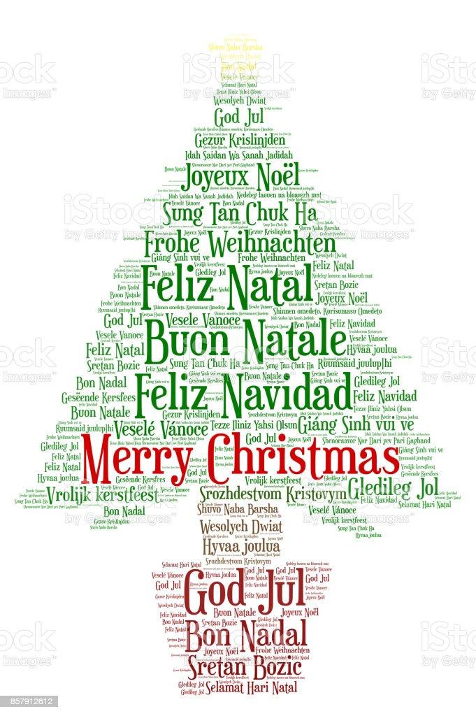 Frohe Weihnachten In Allen Sprachen.Worter Wolke Frohe Weihnachten In Allen Sprachen Der Welt