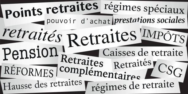 定年の改革と定年退職者の購買力を象徴する言葉。 - リタイアメント点のイラスト素材/クリップアート素材/マンガ素材/アイコン素材