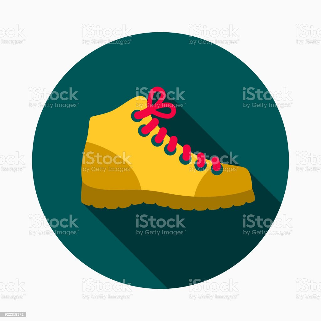 work boots flat design home improvement icon stock vector art more