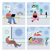 istock Work from home during coronavirus outbreak 1214917818