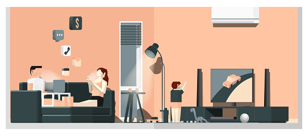Work From Home Living Room