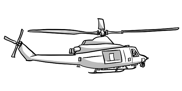 Work Helicopter