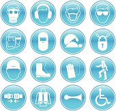Work Safety Icons