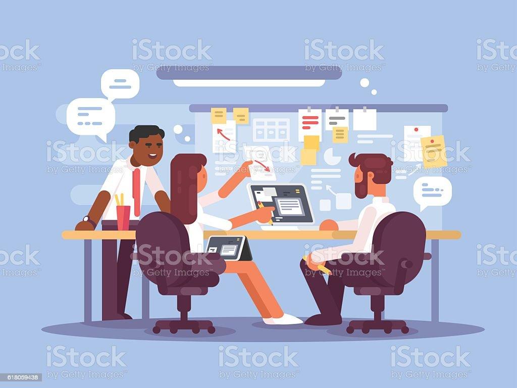 Work schedule, working environment