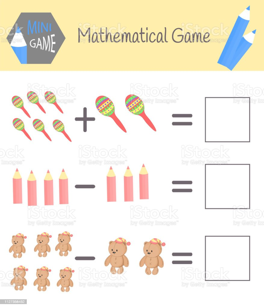 Workbook On Mathematics For Preschool Education Puzzles For ...