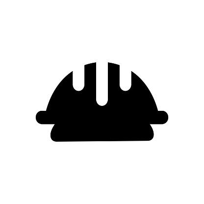 Işçi Kask Vektör Simgesi Çalışan Güvenlik Dolu Modern Basit Izole Işareti Piksel Mükemmel Vektör Çizim Logo Web Sitesi Mobil Uygulaması Ve Diğer Tasarımları Için Stok Vektör Sanatı & Baş'nin Daha Fazla Görseli