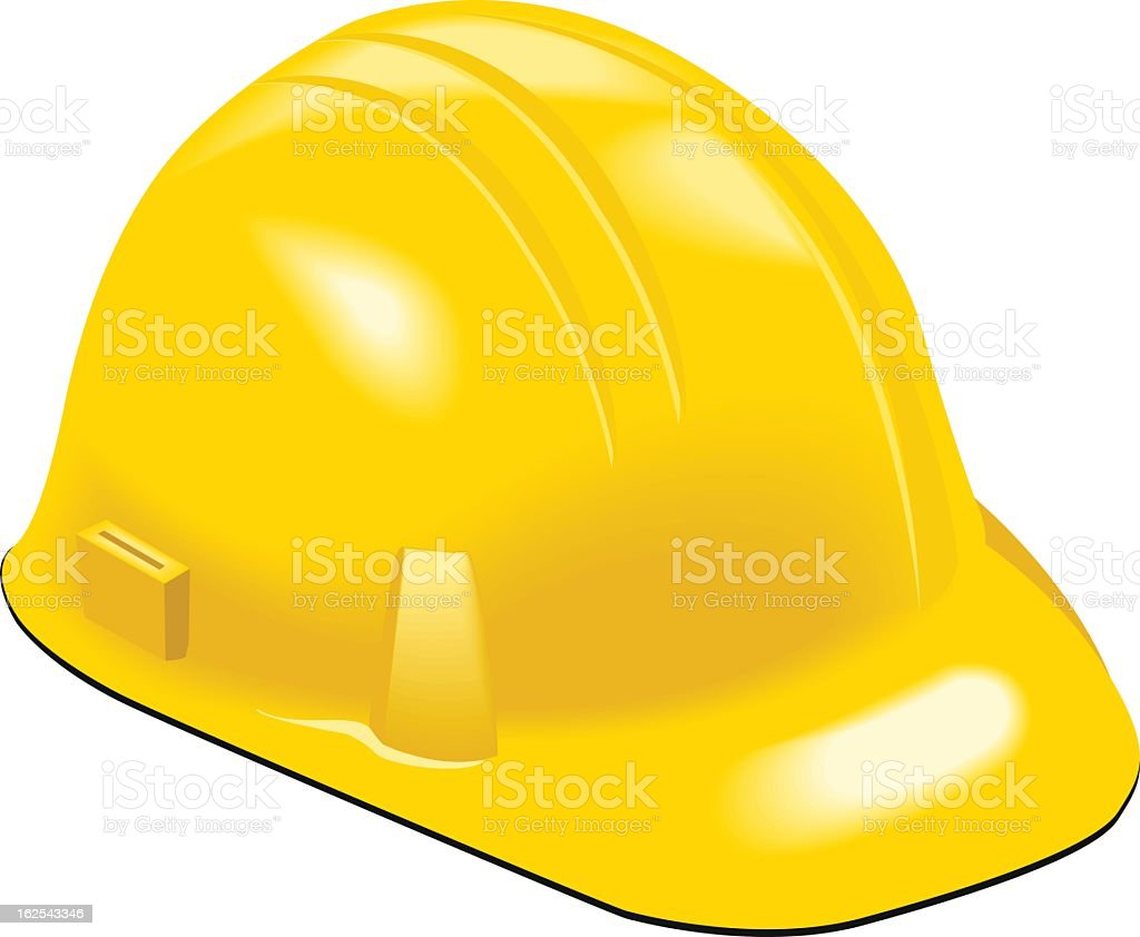 workers helmet vector art illustration