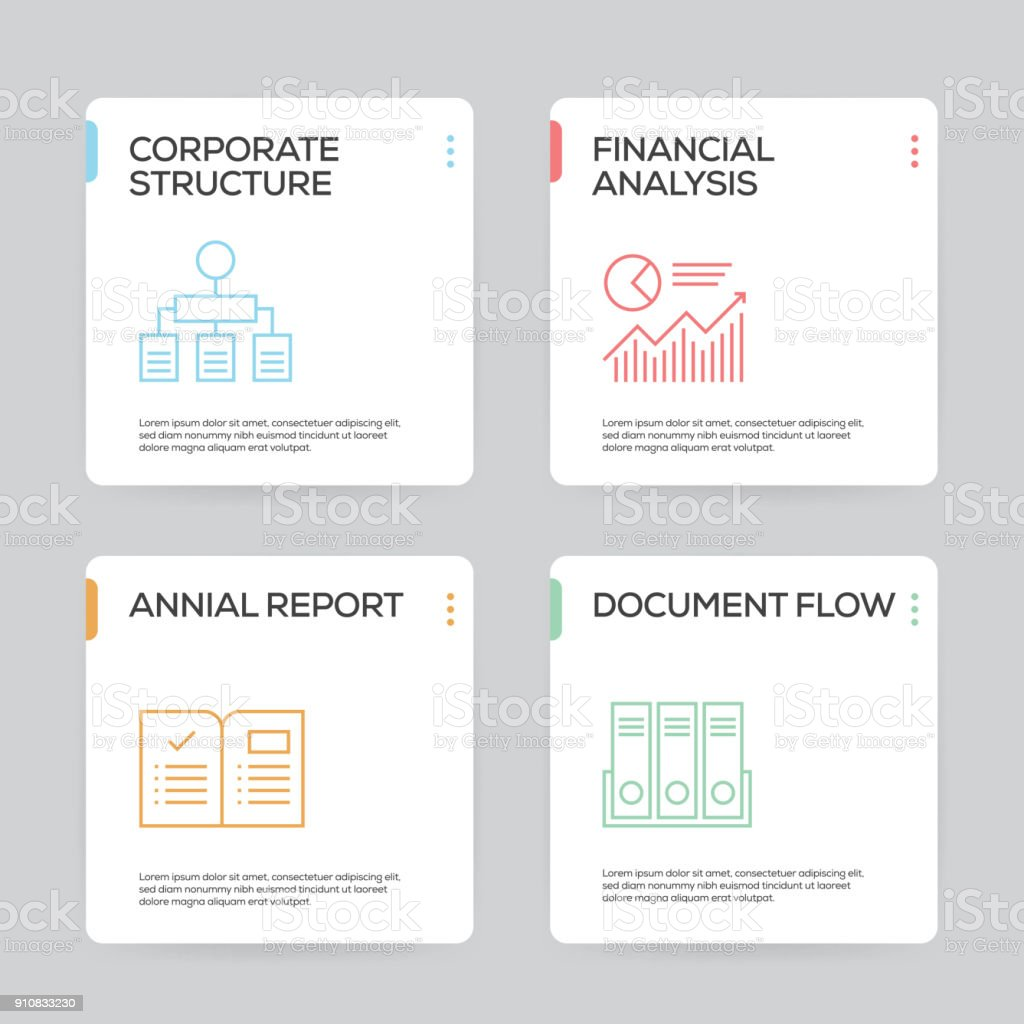 Workflow And Business Infographic Design Template Royalty Free Stock
