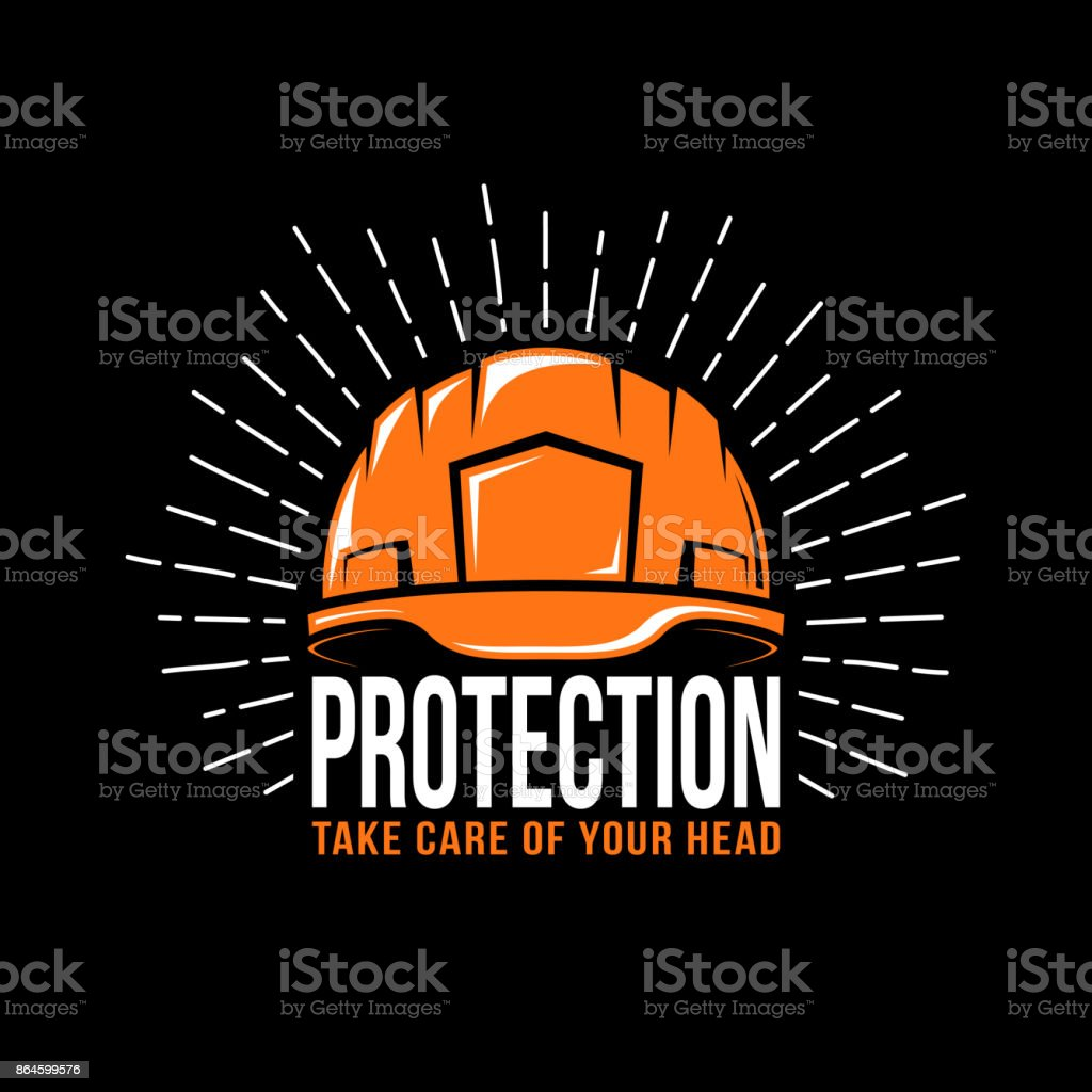 Arbeiten-Helm – Vektorgrafik