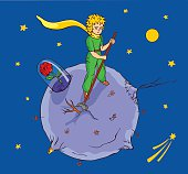Working little prince