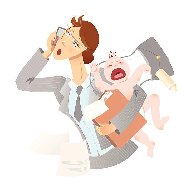 illustrations, cliparts, dessins animés et icônes de mère active - femmes actives