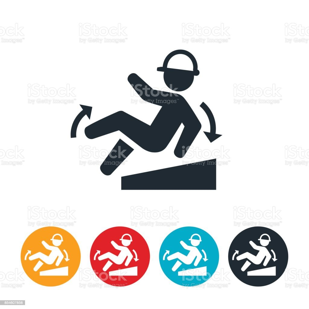 Workplace Fall Icon vector art illustration