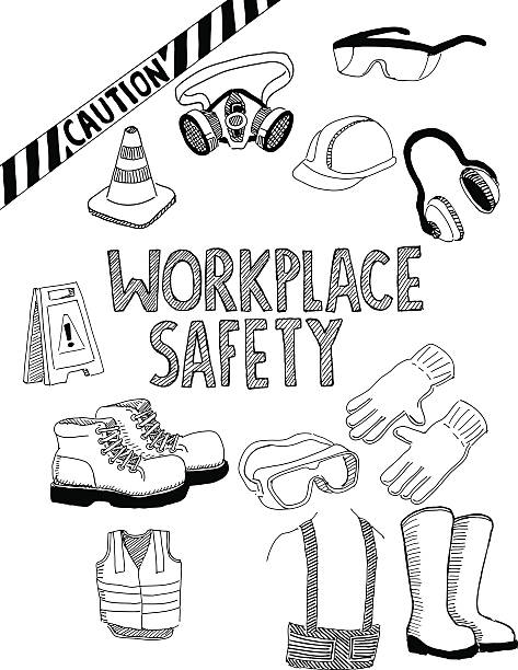 Best Personal Protective Equipment Illustrations, Royalty