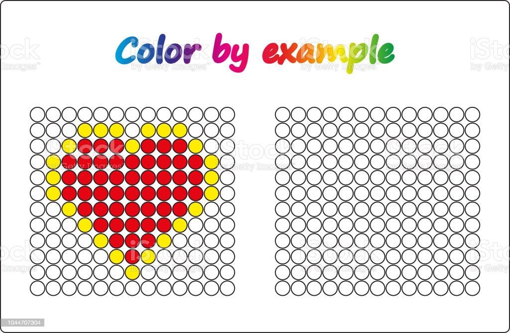 çalışma Sayfası Görev Okul öncesi çocuklar Için Oyun Bulmaca örnekle