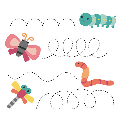 worksheet vector design for kid, artwork vector design for kid
