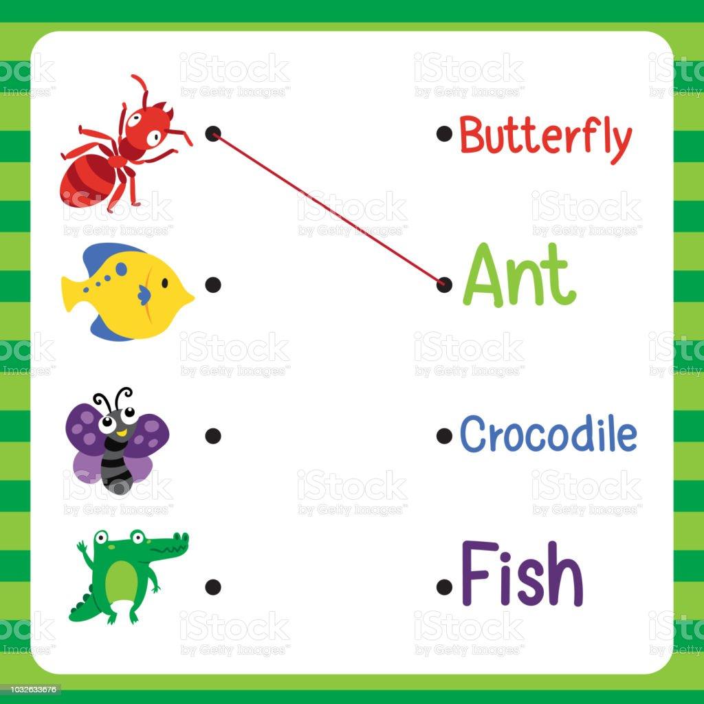 Worksheet Vector Design For Kid Stock Vector Art & More ...