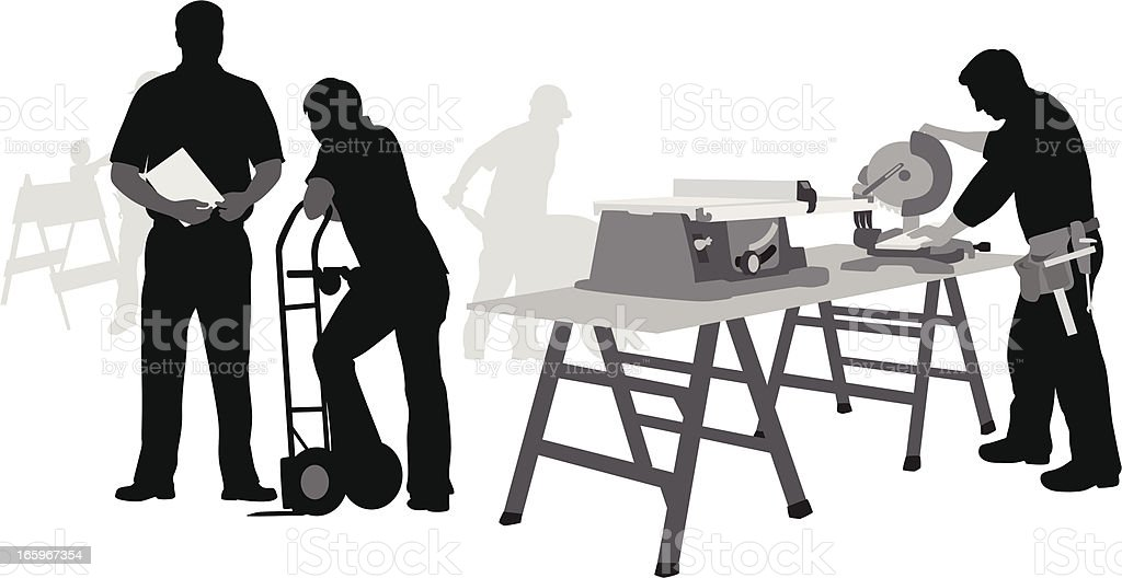 Workshop royalty-free stock vector art