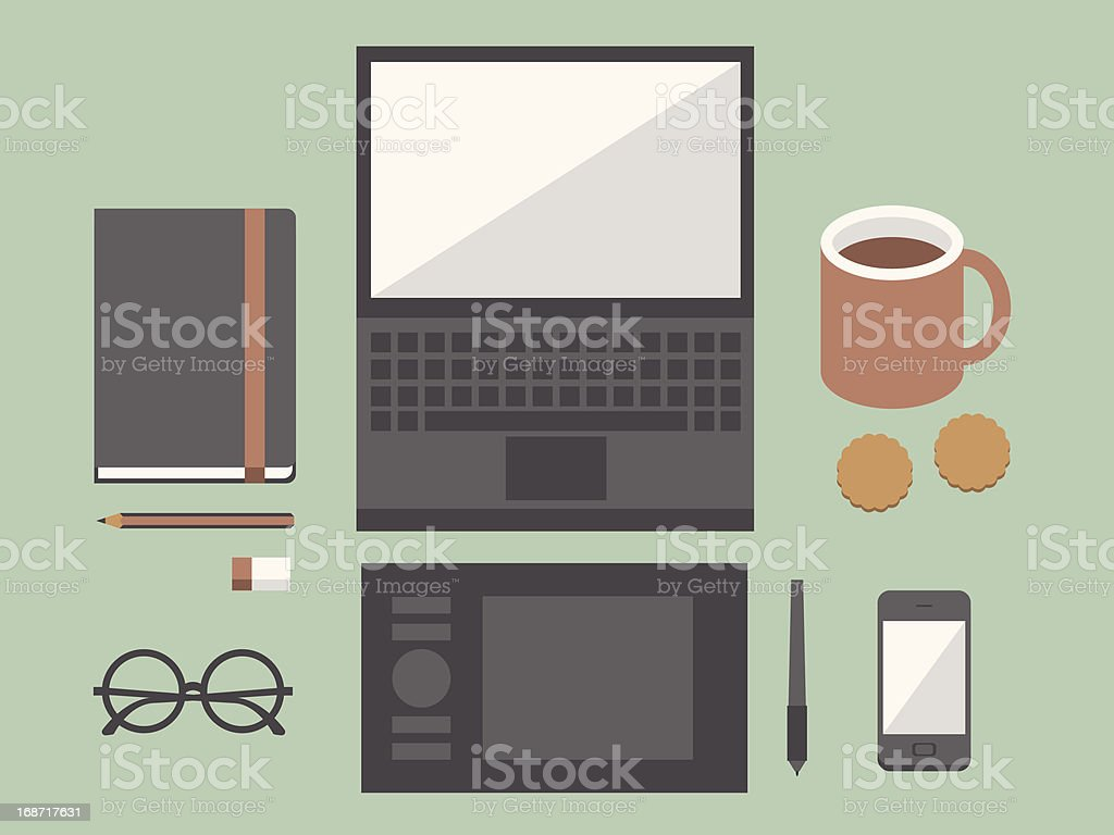 workspace royalty-free workspace stock vector art & more images of arranging