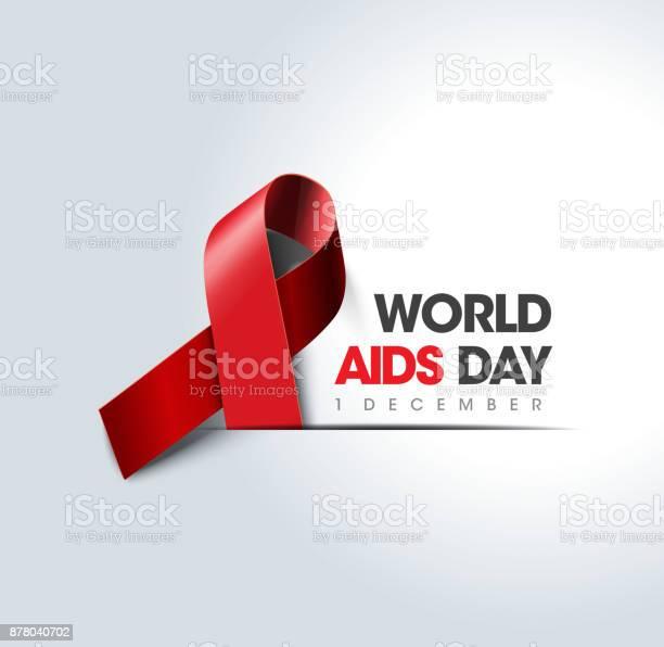 世界愛滋病日概念向量圖形及更多不足圖片