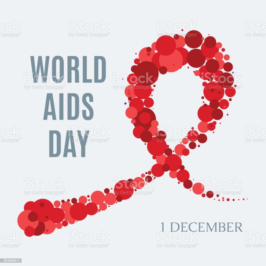 世界エイズの日ポスター - イラストレーションのベクターアート素材や ...