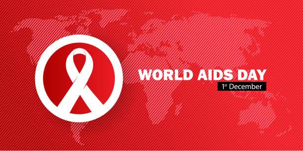 dünya aids günü - aids stock illustrations